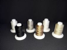 Iris Ultra Egyptian Cotton Quilting thread set 500 yrds each size 50